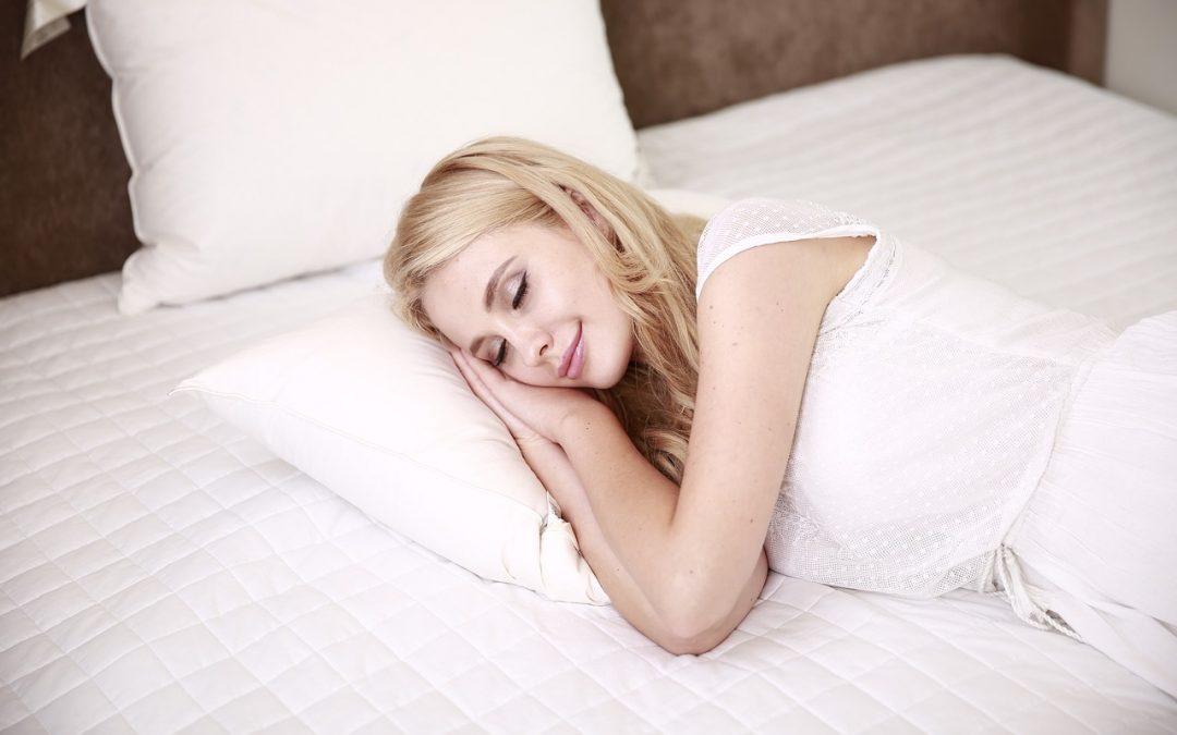 Gute Erholung im Schlaf